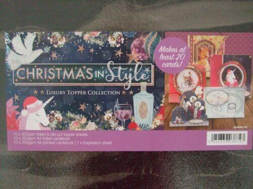 """Navidad en estilo Hunkydory Lujo Toppers /""""El Cascanueces/"""" 3 Hojas A4"""