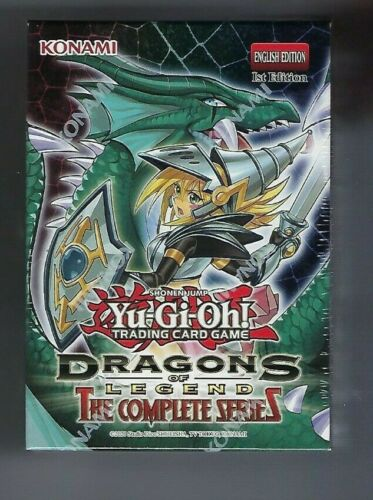 YUGIOH DRAGONS OF LEGEND THE COMPLETE SERIES Box Set 1st Edition