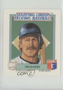 1988 Starting Lineup Talking Baseball Minnesota Twins Dan Gladden #22