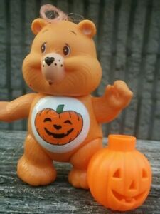 CUSTOM-Made-from-Vintage-3-034-Poseable-Care-Bear-Poseable-TRICK-OR-SWEET-Accessory