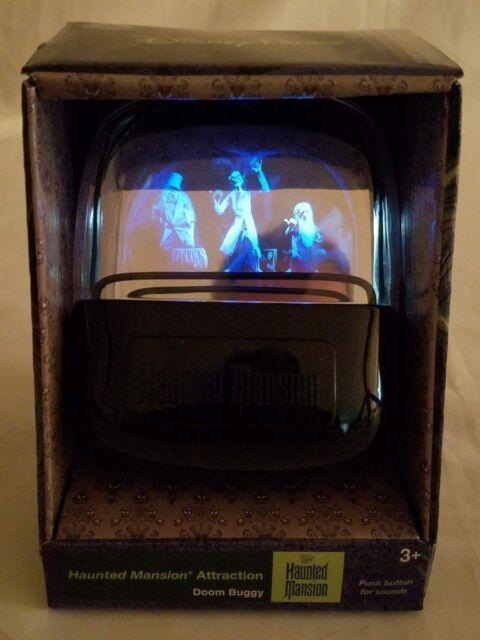 Disney Haunted Mansion Talking Light Up Doom Buggy Hitchhiking Ghosts Doombuggy