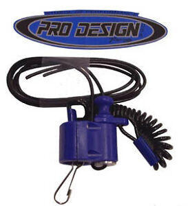 Pro Design Kill Switch Blue Pd103 Electrical Motorcycle Atv Motorcycle Atv Electrical