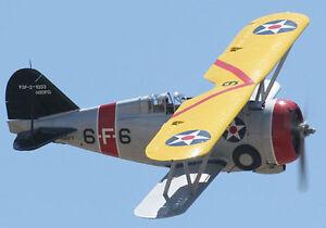 Details about Grumman F3F 1930's American Biplane Fighter Aircraft Wood  Model Regular New