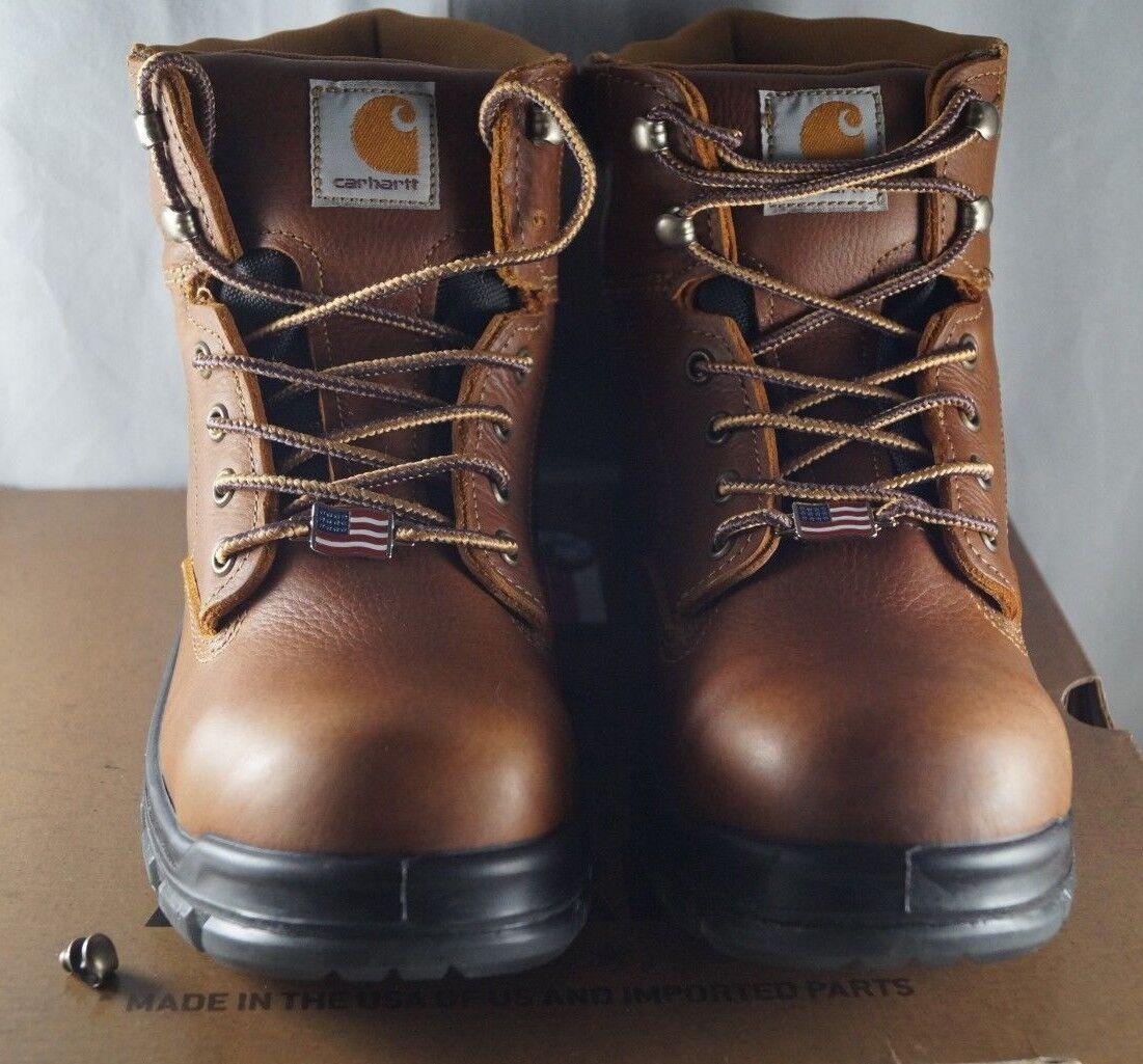 Carhartt para hombre botas De Trabajo Impermeable 6  compuesto Puntera marrón CMZ6340 9 (M)
