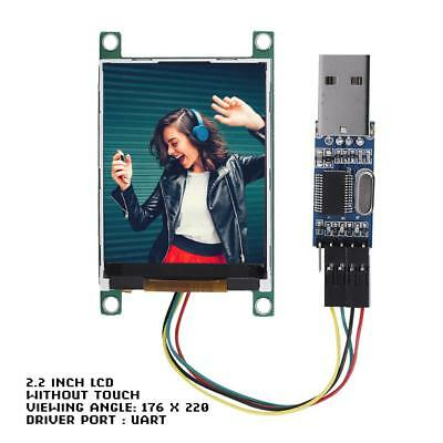 "2.4/"" Serial:UART//I2C//SPI IPS 320x240 Touchscreen Module+16M Flash Arduino PIC CN"