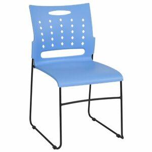 Image Is Loading Flash Furniture Hercules Ergonomic Plastic Vent Back Stacking