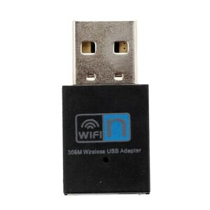 1X-300Mbps-Wireless-WLAN-Adapter-WLAN-Stick-USB-2-0-Dongle-IEEE-802-11n-g-4K4