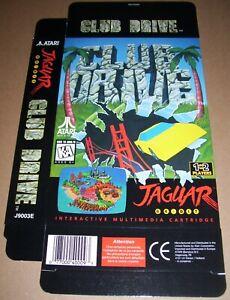 Atari Jaguar 64-bit Consoles De Jeux Original Club Drive Jeu Boîte Neuf P/n : Chaud Et Coupe-Vent