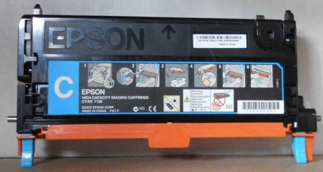 Original Epson 1126 Toner cyan HC für C3800 Series C13S051126 S051126 ohne OVP D