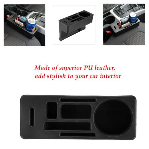 25 * 8.5 * 16cm Car Seat Crevice Storage Box Organizer Wallet Cup Holder Tool