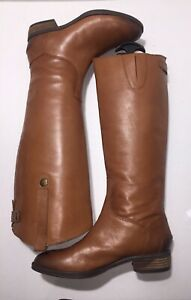 988a2d18f Sam Edelman Penny Riding Boots Whiskey Leather Women Size 6.5 M EUR ...