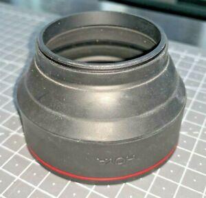 Hoya 52mm Screw-on Rubber Multi Lens Hood