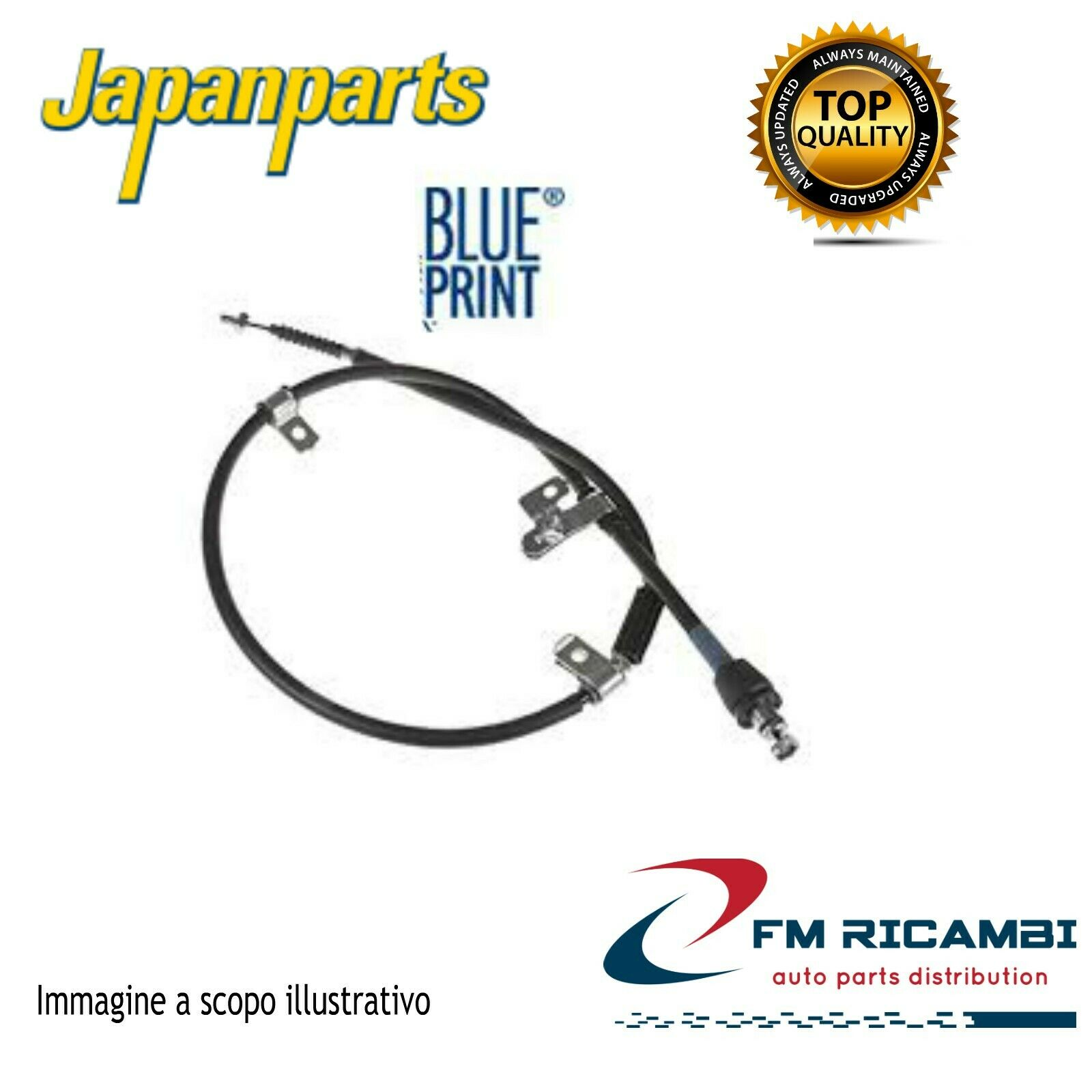 JAPANPARTS JPBC-102 Cavo Comando Freno STAZIONAMENTO