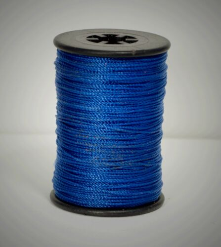 Brownell #4 Blue Nylon Serving Jig Spool Bowstring Material Bow String