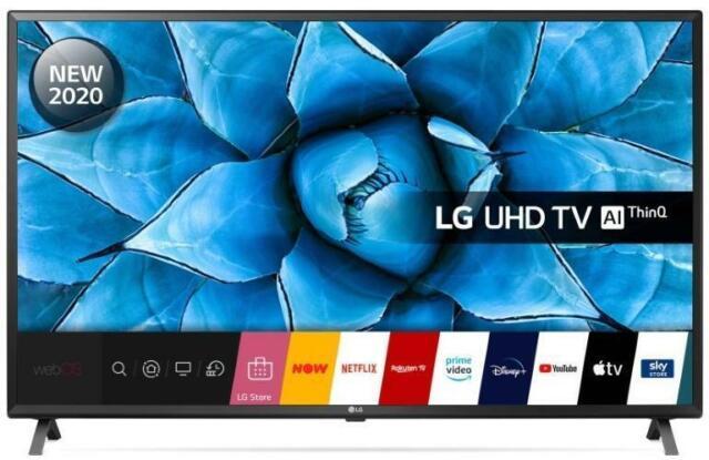 "LG 49UN73006LA 49"" 4K Ultra HD picture quality with award-winning webOS smart"