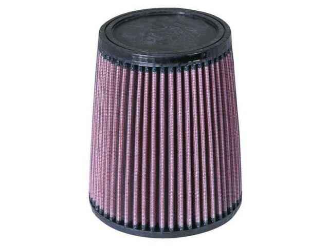 "RU-3610 K&n de Goma Universal Filtro 2-3/4"" Flg , 5-7/8B, 4-3 / 4 cm T, 7H"