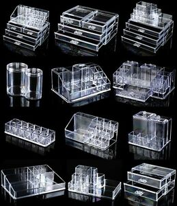 Cosmetic Organizer Clear Make Up Acrylic Cosmetics Box Lipstick - Acrylic makeup organizer