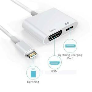 Lightning-To-HDMI-Digital-AV-TV-Cable-Adapter-For-iPad-iPhone-XS-XR-X-8-7-6-Plus