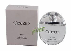 e3fe96d171b12 Obsessed For Women by Calvin Klein 3.4 3.3 oz Eau De Parfum Spray ...