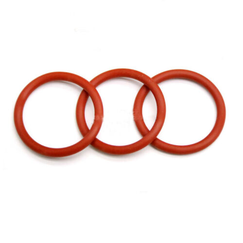 Silikon O-Ring Siegel Wasserdicht Isolierung Lebensmittelqualität Φ1.5mm Rot