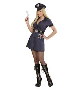 M neu Polizistin Polizeikostüm Frauen Polizistinnenkostüm Polizei Kostüm Gr