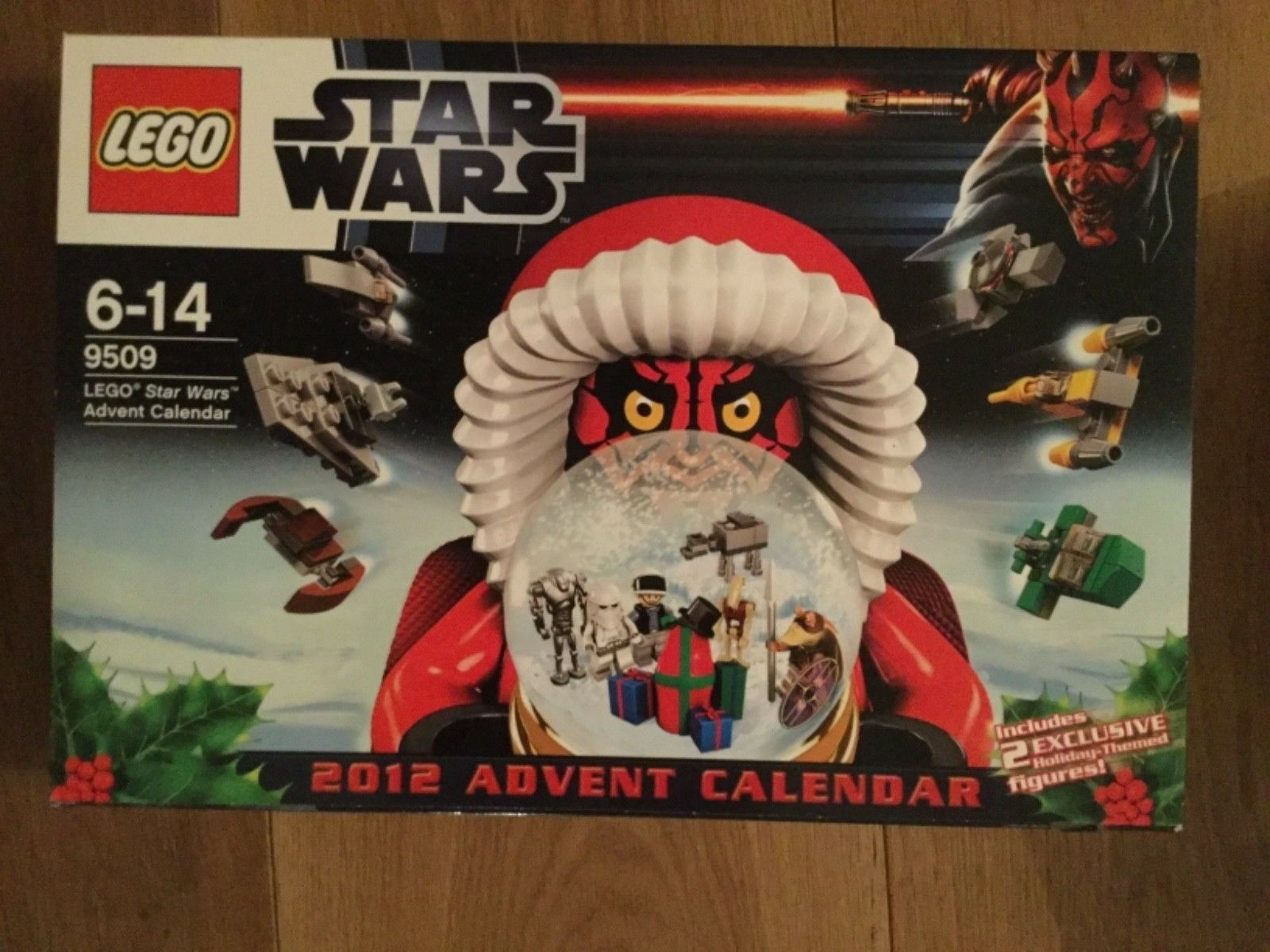 Lego Lego Lego Star Wars Advent Calendars set of 7 all new & sealed maybe full set of 8 434d6b