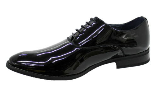 Diamond Scarpe Class nero lucido Elegante Uomo Calzature uomo qxEfS
