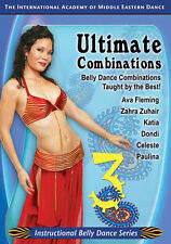 Ultimate Belly Dance Combos 3 DVD - How to Belly Dance Video