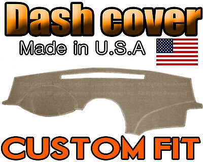 Fits Lexus ES 2007-2012 Brushed Suede Dash Board Cover Mat Taupe