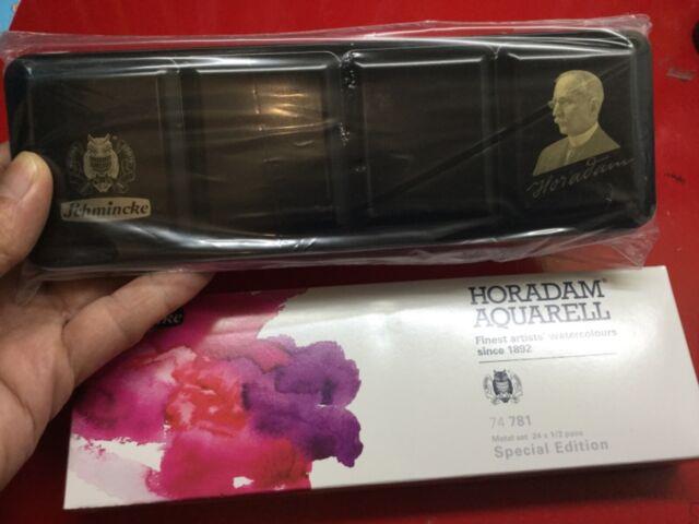 Schmincke Horadam Empty Watercolor Tins Palette Paint Case Box - Special Edition