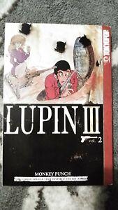 Lupin-III-the-3rd-Volume-2-Manga-Grapchic-Novel-Book-in-English