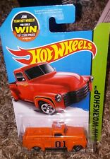 52 chevy truck HOT WHEELS GENERAL LEE DUKES OF HAZZARD CUSTOM  super cool
