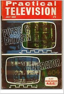 Practical Television Magazine July 1968 For FULL Contents see Listing Images - Northumberland, United Kingdom - Practical Television Magazine July 1968 For FULL Contents see Listing Images - Northumberland, United Kingdom