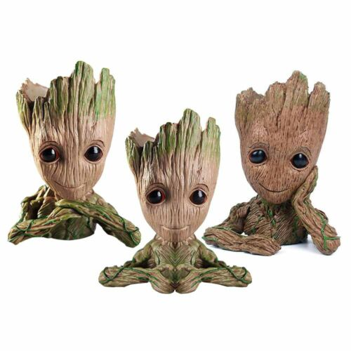 Guardians of The Galaxy Vol 2 Baby Groot Figure Kid Toys Flowerpot Pen Pot Gift