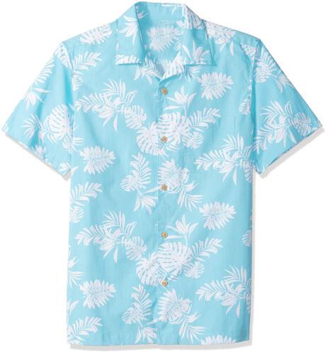 New Mens Short Sleeve Slim Fit Button Down Floral Hawaii Beach Shirts YKD218