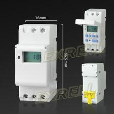 Digitale Timer Programmabile Settimanale Temporizzatore Display LCD 220V ex1l
