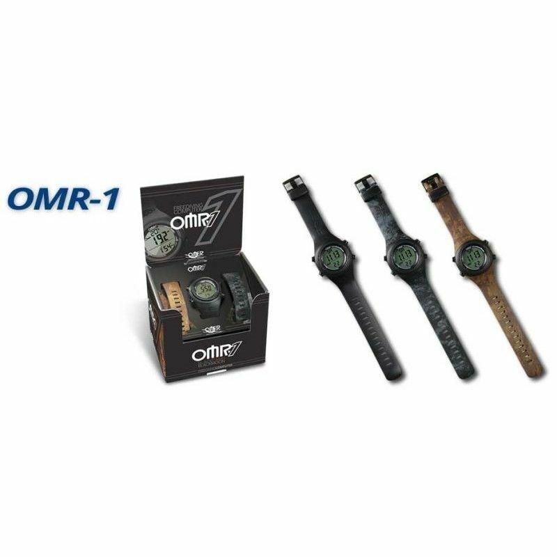Computer Omer OMR-1 PESCA APNEA 3 CINGHIETTE MIMETICHE