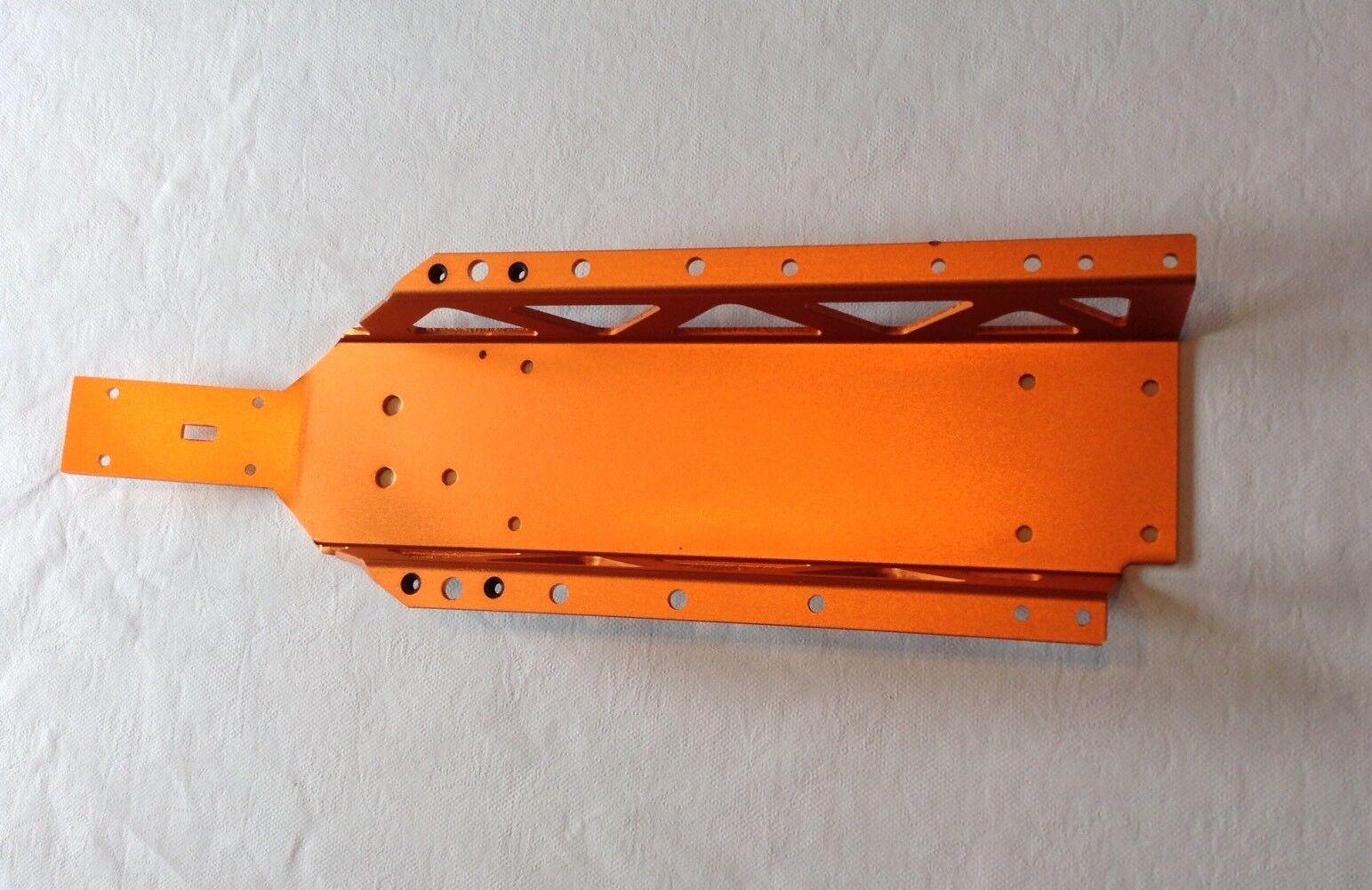 HPI BAJA ALLOY MAIN CHASSIS orange FOR HPI BAJA 5B,5T,5SC,1 5,KM,ROVAN