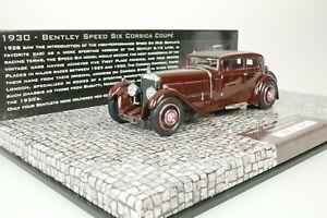 Bentley-Six-Speed-Corsica-Coupe-1930-Red-Black-1-43-minichamps-437139420-New