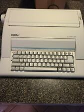 Royal Scriptor Ax 150 Electronic Typewriter Excellent Condition Mint No Manual
