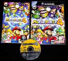 MARIO PARTY 4 Nintendo GameCube Versione Italiana ••••• COMPLETO