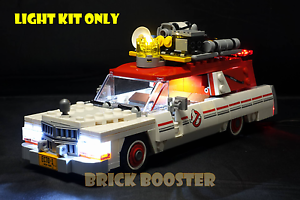 USB Powered LED Light Kit for Lego 75828 Ghostbusters Ecto-1 (2016)