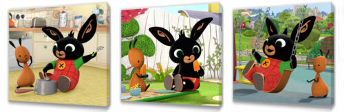 or sets pictures you choose the size,singles Bing Bunny II wall art plaques