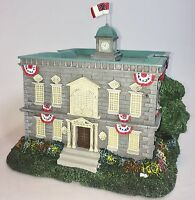 Hawthorne Village, Civil War, Magnolia Street Library, Lighted, Ho Scale