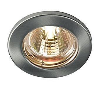 Mains 240V GU10 LED Fixed Ceiling Light Spotlights Downlights Recessed Fitting