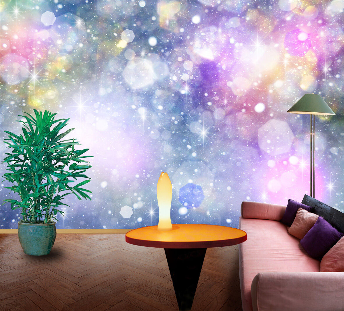 3D Weiß light light light Dots wall Paper Print Decal Wall Deco Indoor wall Mural 040f22