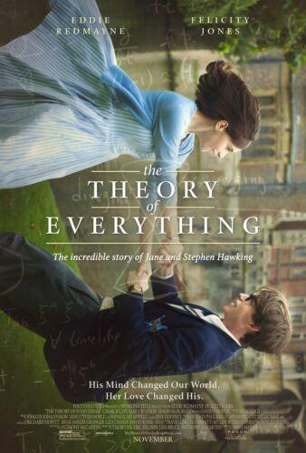 Hawking 2014 24x36 The Theory of Everything - Eddie Redmayne Movie Poster