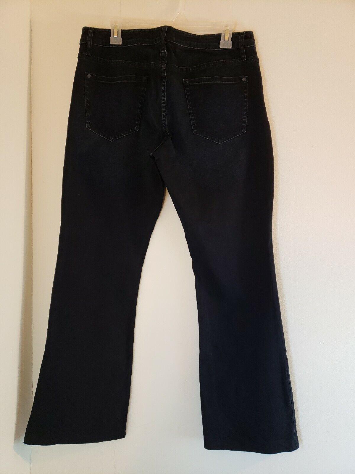 Pilcro and The Letterpress Anthropologie Denim bluee Jeans 32 Dark bluee Bootcut