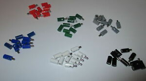 Pieces-19-9-CT-Plug-Banana-Sockets-2-6mm-60-Pieces-Sorted-New