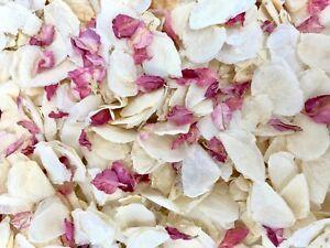 Raspberry-Delphinium-Ivory-Dried-Biodegradable-Wedding-Confetti-Real-Petals